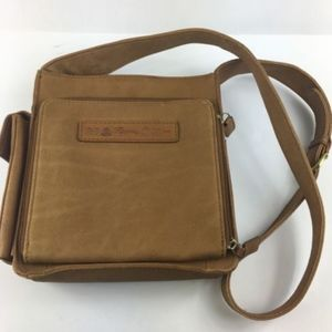 Fossil Classic Crossbody 75082 Leather Brown Purse